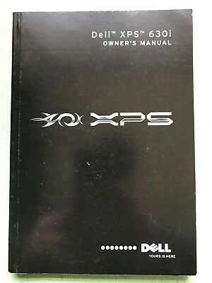 Dell XPS 630i Owners Manual 2007