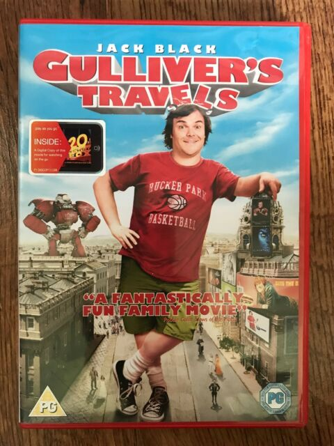 Jack Black Billy Connolly GULLIVER'S TRAVELS ~ 2010 Family Comedy | DVD