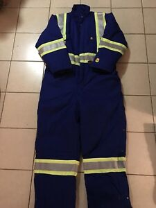 Pioneer Storm Master Fire Resistant, Winter Coveralls. XL