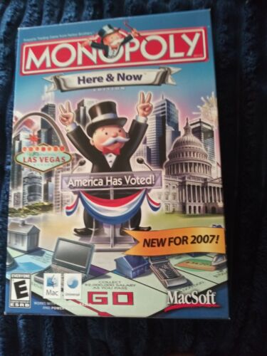 Monopoly Here And Now MacSoft Pc Game 2007 NIB