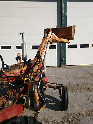 Farmall Ih A Loader Complete And Working