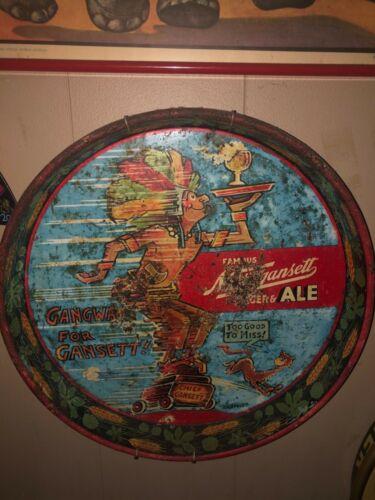 Vintage 1940s Dr. Seuss metal beer tray