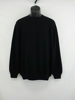 MALO Cashmere Sport 100% Cashmere Crewneck Sweater Made in Italy Size 50 #CAS755