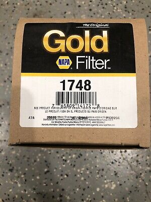 New Engine Oil Filter- Diesel, Turbo NAPA/Wix 51748 1748 Made in USA
