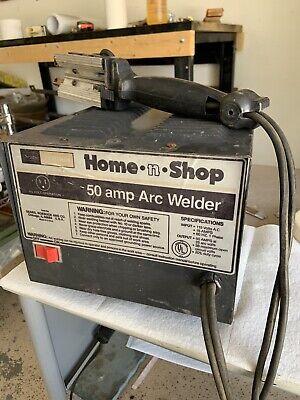 Sears 115 Volt Welder 50 Amp Hobby Arc Welder Working Very Nice Shape