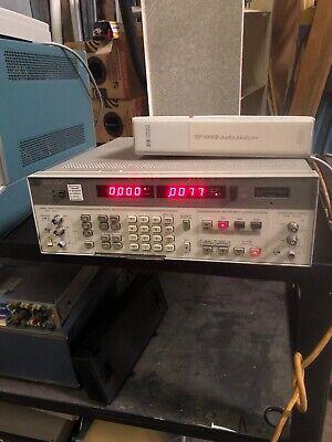 Hp Keysight 8903b 20hz - 100khz Audio Distortion Analyzer W Operation Manual