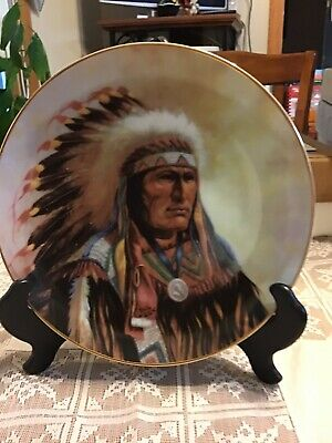 """""""Strength Of The Sioux """"  Hamilton Plate Collection"""