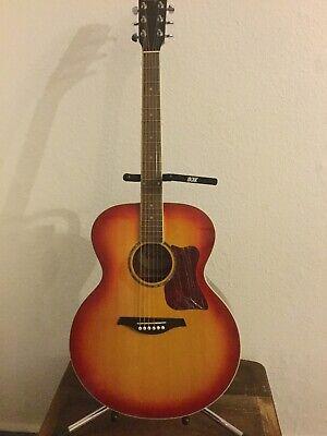 Vintage Jumbo Guitar Solid Top VJ100SB  [SUNBURST BEAUTY!]