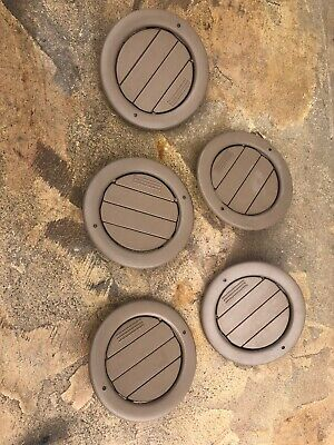 EXPEDITION EXCURSION NAVIGATOR INTERIOR ROOF AC VENT INSERT SET OF 5 Vents Brown Brown Roof Vent