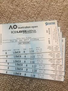 Australian Open Woman's Semifinal tickets Rosanna Banyule Area Preview