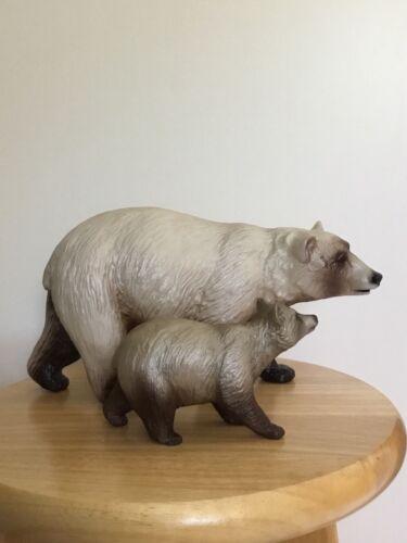BREYER WEB SR #711108 KODIAK AND DENALI MOMMA BEAR AND CUB SET