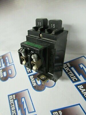 Ite Bulldog P1515 15 Amp 1 Pole Tandem Pushmatic Circuit Breaker- Warranty