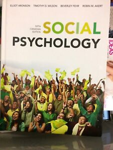 Social psychology 5th edition