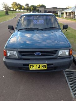Ford Courier tray back ute Cessnock Cessnock Area Preview