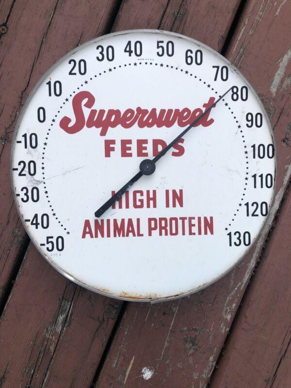 Vintage Farm Advertising Thermometer
