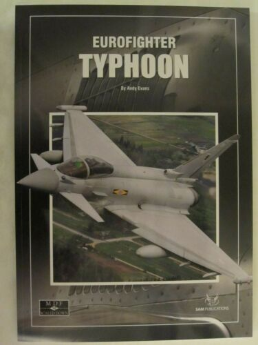 SAM Publications: Eurofighter Typhoon - MDF Scaled Down, 100 pages, softcover