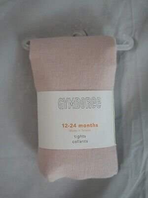 NEW Gymboree Baby Girls Pale Pink Tights Size 12-24 Months NWT