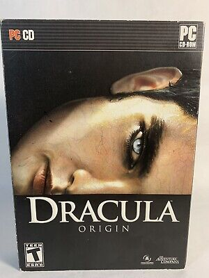 Dracula Origin PC Game - 3 Discs **Horror Adventure** 2009
