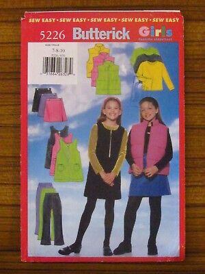 Швейные выкройки BUTTERICK PATTERN - 5226