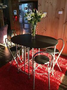 Drop down Kitchen table and 4 chairs Woy Woy Gosford Area Preview