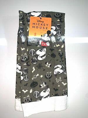Disney MICKEY MOUSE Halloween 2-Pack Kitchen Hand Towel 100% Cotton *BRAND NEW*