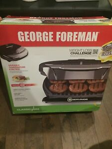 Brand new, never opened. George Foreman Grill.