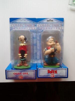 Popeye Olive Oyl (Bandai Popeye und Olive Oyl - ovp)