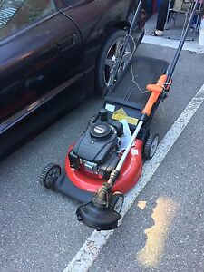 MTD Lawnmower and B&D cordless trimmer