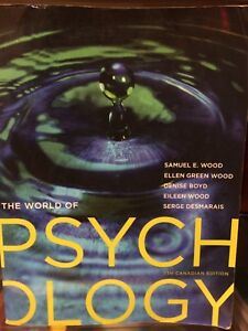 The World of Psychology 7th Ed