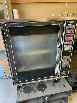 Henny Penny Scr-6 Electric Digital Commercial Chicken Rotisserie Oven Barbecue