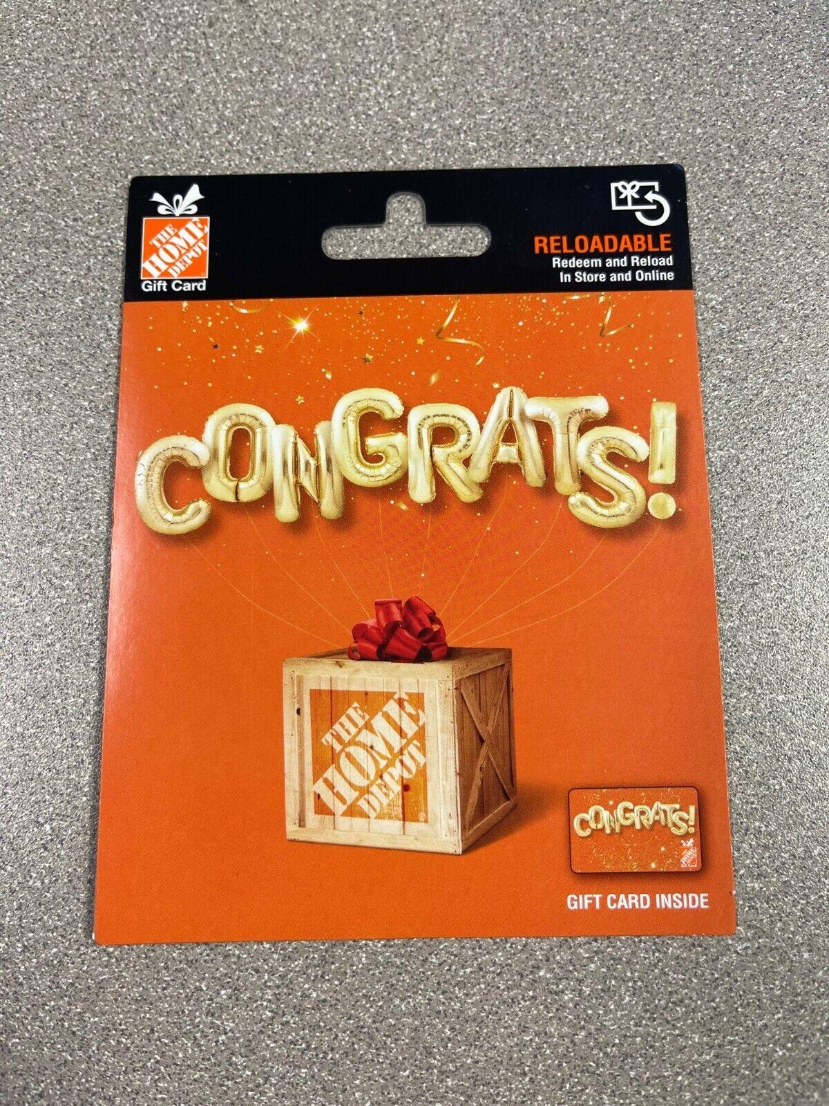 200 Home Depot Gift Card - $190.00