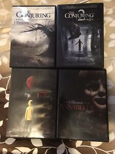 Horror / Thriller Movies DVDs