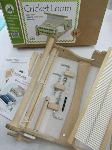 "CRICKET LOOM 15"" Tabletop Weaving Loom Rigid Heddle Loom NEW IN BOX Schacht Co."