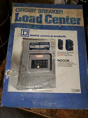 Square D 100 Amp Circuit Breaker Load Center