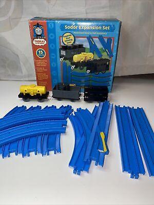 Sodor Expansion Set Thomas & Friends TOMY Thomas the train 14 piece 4880 Read