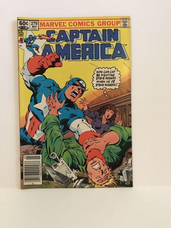 Captain America #279