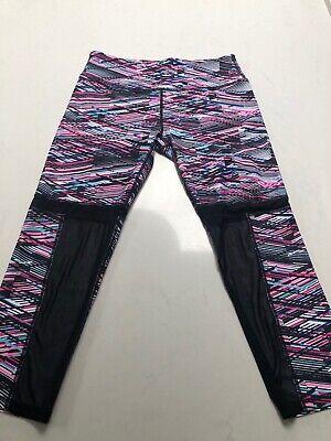 Fabletics Capri Sz XS Legging Pants Colorful Geometric Design