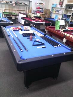 POOLTABLES 8X4 FREE ADELAIDE DELIVERY,INCLUDES $450 ACCESSORIES Kidman Park Charles Sturt Area Preview