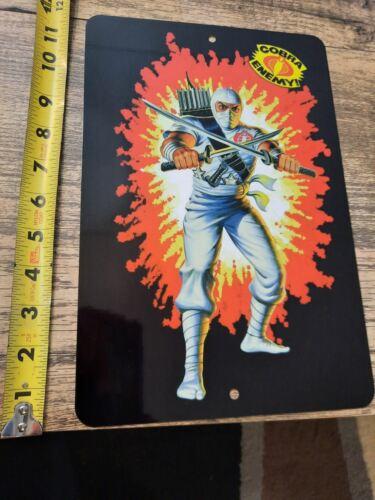 GI Joe Storm Shadow 8x12 Metal Wall Sign Cobra Ninja