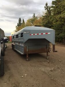 Norbert 26 foot stock trailer
