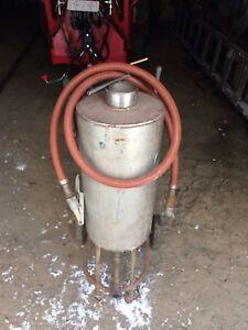 Machine à jet de sable (sandblast)