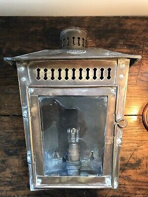 Antique vintage wall lamp