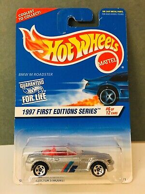 BMW M ROADSTER HOT WHEELS 1997 First Edition Series (Tampo Error)