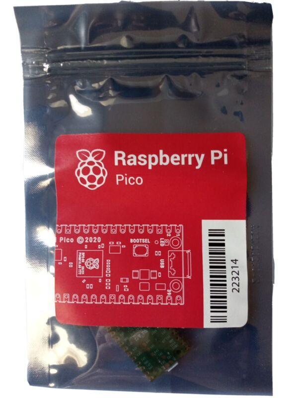 Raspberry Pi Pico Microcontroller Dev. Board RP2040 dualcore ARM processor.