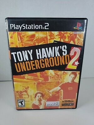 Tony Hawk's Underground 2 PS2 - Tested Works - Free Shipping