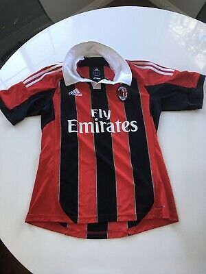 AC Milan Football Soccer Jersey Adidas Men's Medium M El Shaarawy