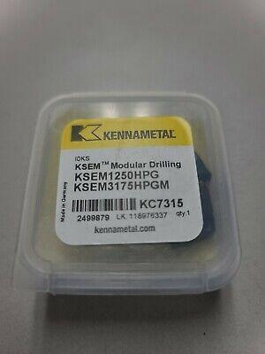 Kennametal 1.250 Dia. Se Modular Drill Inserts Ksem1250hpg Kc7315 2499879