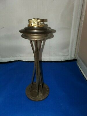 Vintage Seattle Space Needle Worlds Fair  Cigarette Lighter Deco CA