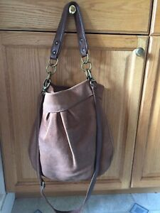 Roots Tribe Leather Olivia Crossbody