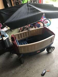 Kids Wagon with Canopy